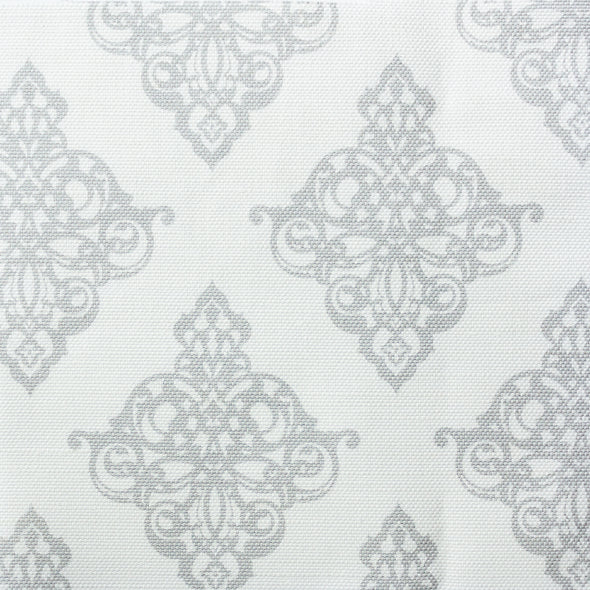 Damask Fabric Dove Grey