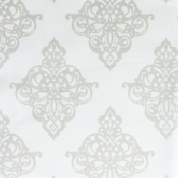 Damask Fabric Linen beige