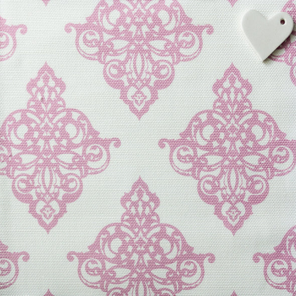 tickled pink damask fabric