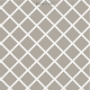 Diamond Trellis Fabric - Chateaux with Linen