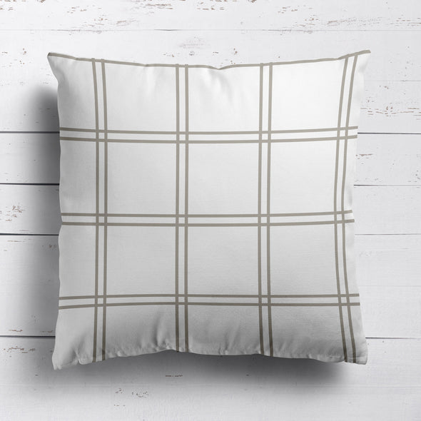 Double Window Pane Check Fabric - Chateaux