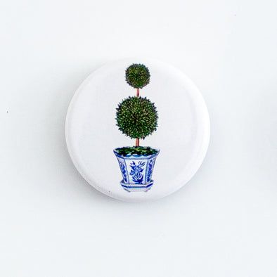 Topiary Tree Fridge Magnet