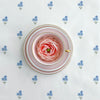 Forget Me Not Fabric with pink tea cup