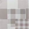 Jumbo gingham check cotton linen fabric Chateaux beige