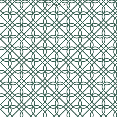 Greek Gate Fabric - Leaf