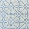 Greek Gate trellis fabric cornflower blue
