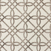 brown trellis pattern fabric