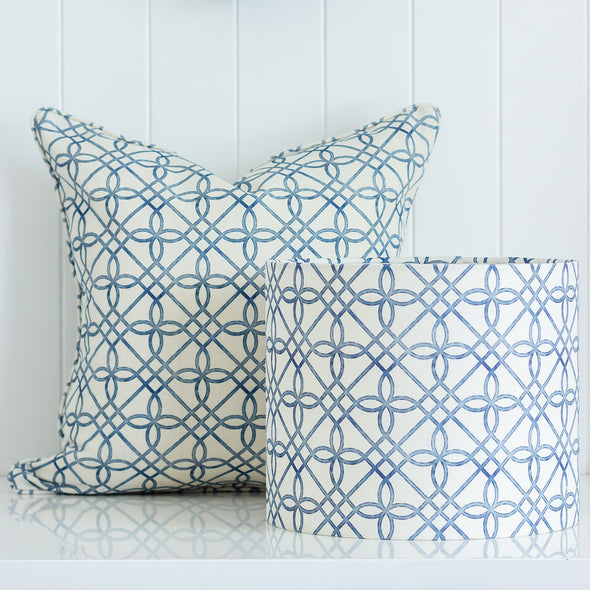 Greek Gate Rustic Cushion and Lampshade