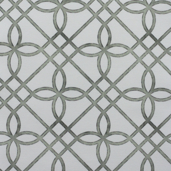 green trellis fabric rustic green