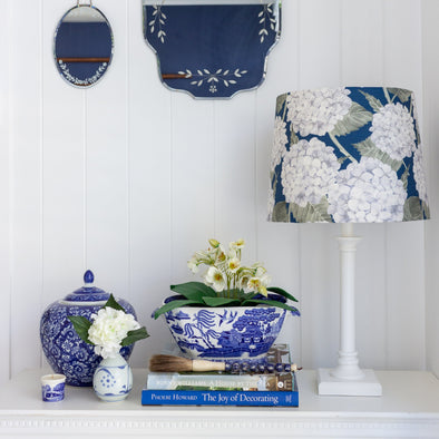 Custom made Hydrangea lampshade Australia