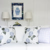 Hydrangea Bloom Blue Cushion