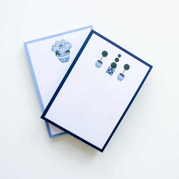 Chinoiserie Preppy Notepad