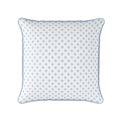 Hydrangea Petal Piped Cushion Pillow