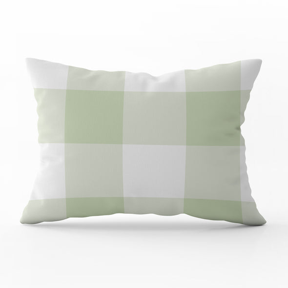 Jumbo Gingham Rectangle Cushion