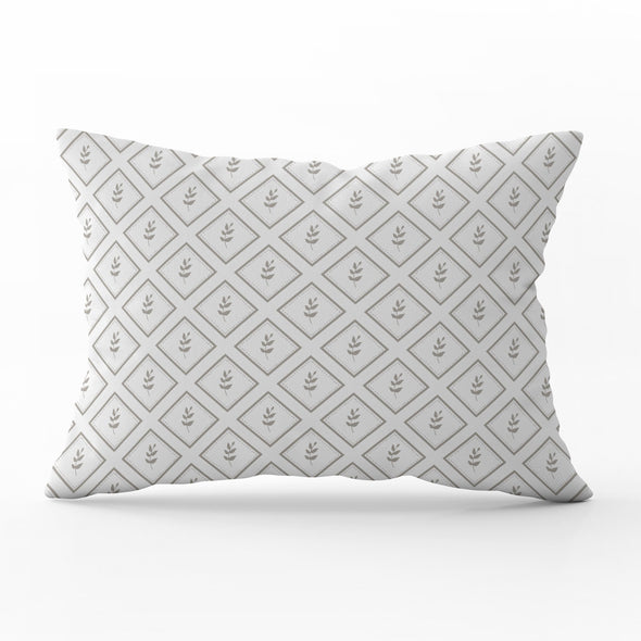 Little Leaf Chateaux rectangle cushion