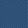 Little Leaf Reverse Fabric - Navy