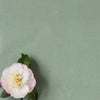 Eucalyptus green perfectly plain cotton linen fabric