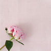 Peony pink perfectly plain cotton linen fabric