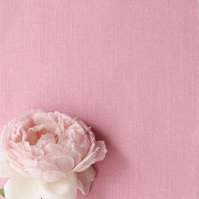 Tickled pink perfectly plain cotton linen fabric