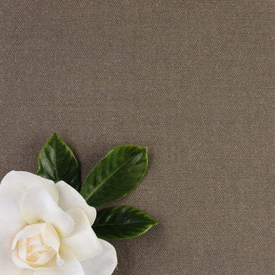 Twig brown perfectly plain cotton linen fabric