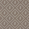 Chateaux beige little leaf pattern cotton linen fabric