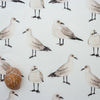 Seagull fabric coastal nautical style