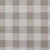 gingham check cotton linen fabric Chateaux beige