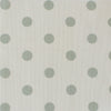 Spot Dot cotton linen fabric in Eau de Nil green