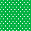 Spotty Day Reverse Fabric - Emerald