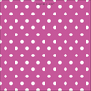 Spot Dot cotton linen fabric in Raspberry pink