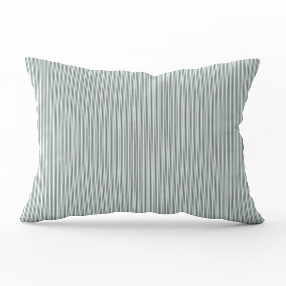 Ticking Stripe Rectangle Cushion