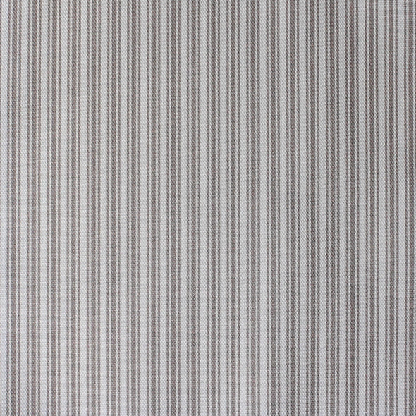 Ticking Stripe cotton linen fabric in Chateaux beige