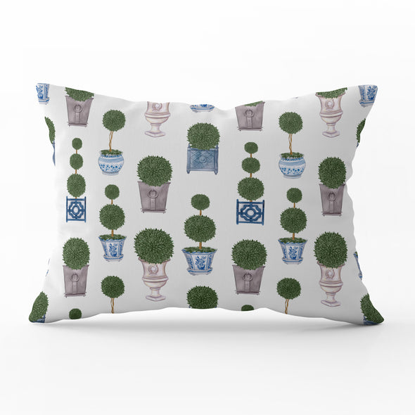 Topiary Trees Cushion