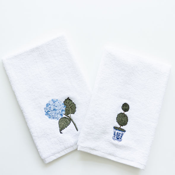 embroidered gust towels
