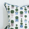 Topiary Tree Chinoiserie Cushion