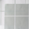 Window Pane Check Fabric - Eau De Nil