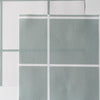 Window Pane Check Fabric - Eucalyptus
