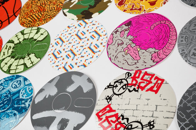 Stickerbomb Sprocket Sticker Mega-Pack