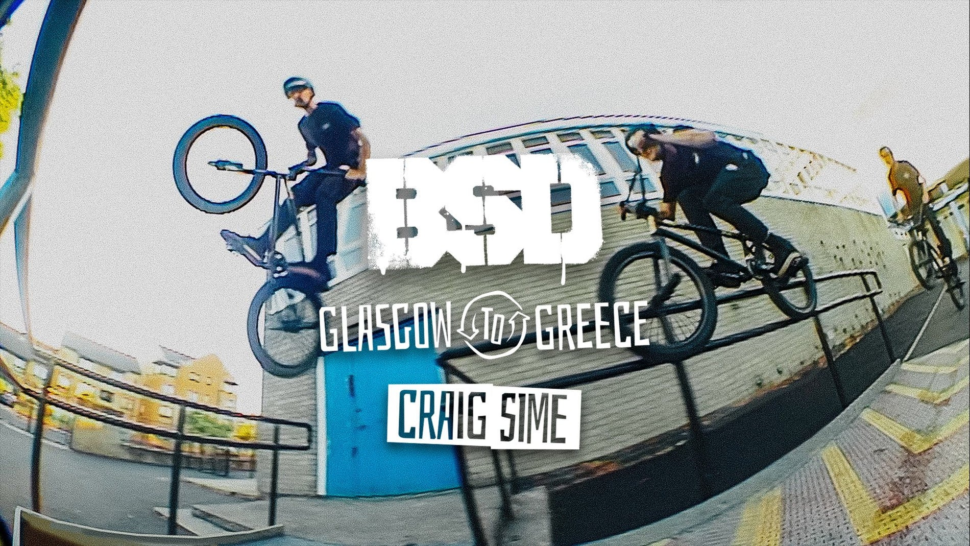 Craig Sime - Glasgow to Greece