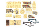 Grime Frame Sticker Pack