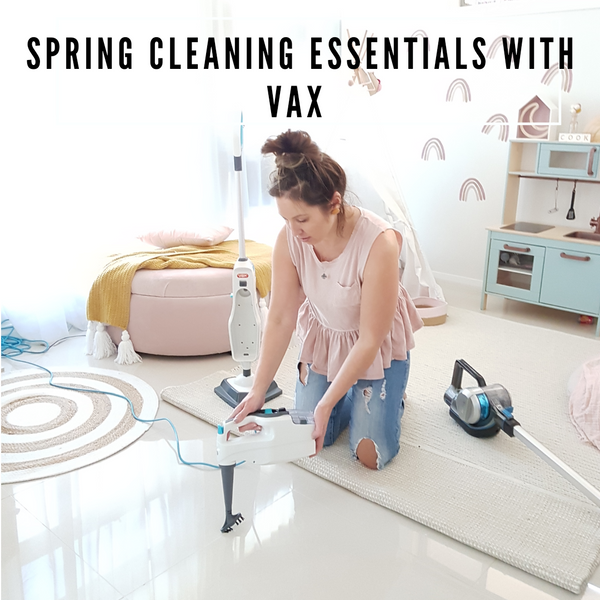 SPRING CLEANING ESSENTIALS with VAX