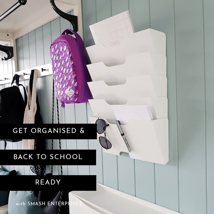 GET ORGANISED AND BACK TO SCHOOL READY