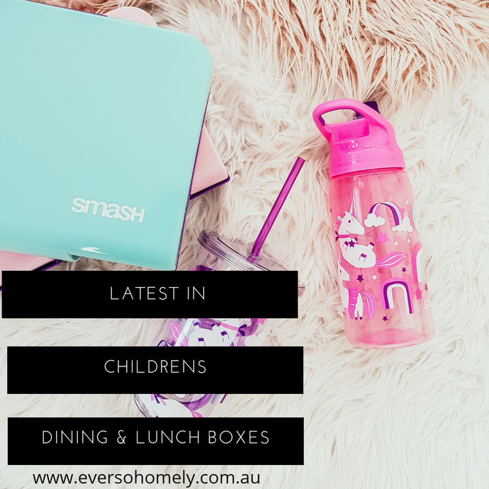 LATEST IN CHILDREN'S DINING & LUNCH BOXES