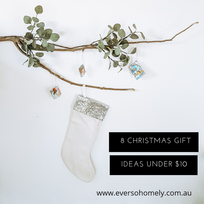 8 CREATIVE CHRISTMAS GIFT IDEAS UNDER $10