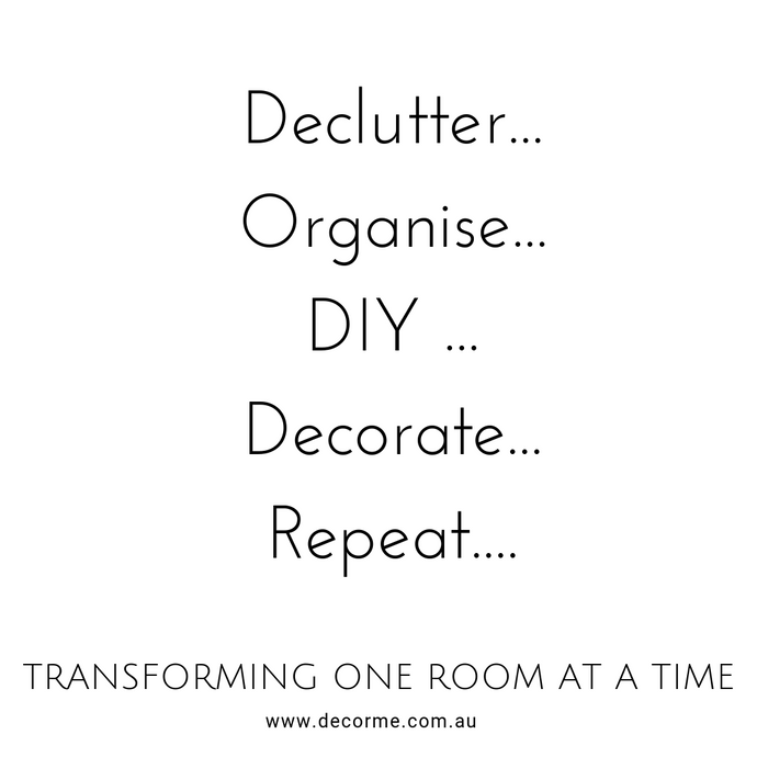 How decluttering allowed me to breathe and decorate our home.