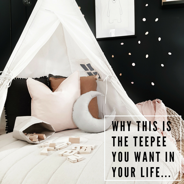 WHY THIS IS THE TEEPEE YOU WANT IN YOUR LIFE! - The Catty Wampus Teepee