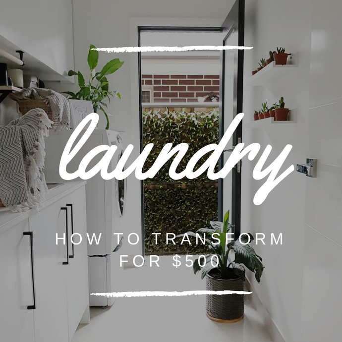 How to TRANSFORM your Laundry for LESS THAN $500!