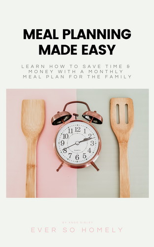MEAL PLANNING MADE EASY - eBook