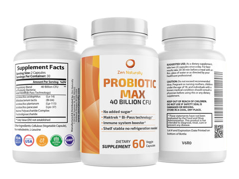 Probiotic Max – 40 Billion CFU