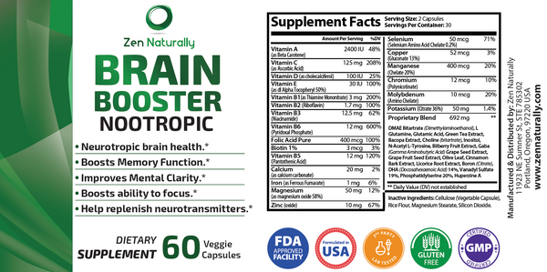 Nootropic Brain Booster